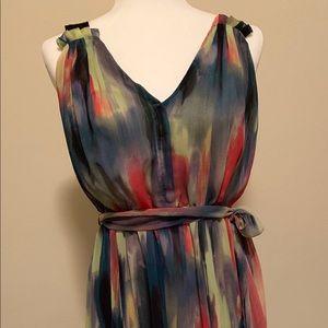 Simply Vera watercolor print dress